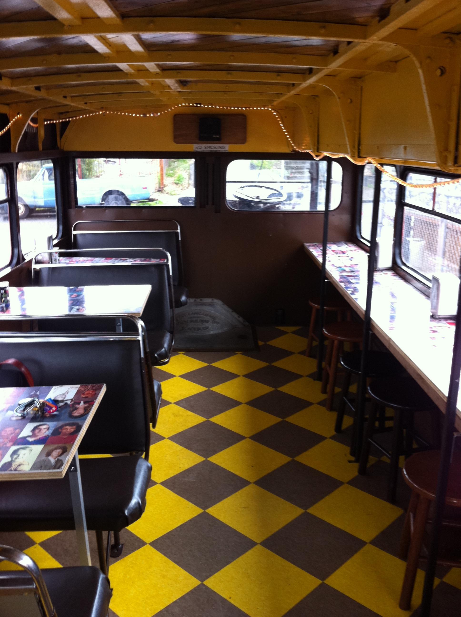 Custom school bus interior wwwpixsharkcom images for Custom party bus interiors